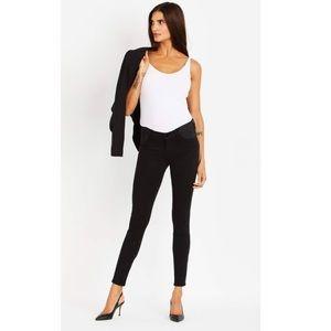 J Brand side Panel Mama J Skinny Maternity Jeans